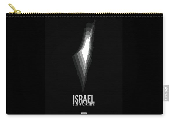Israel Radiant Map 3 Carry-all Pouch