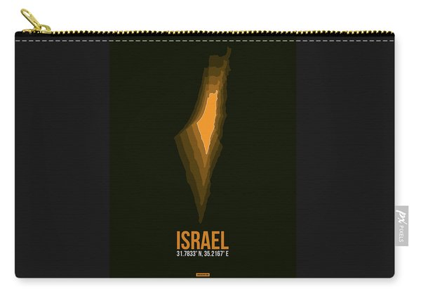 Israel Radiant Map 4 Carry-all Pouch