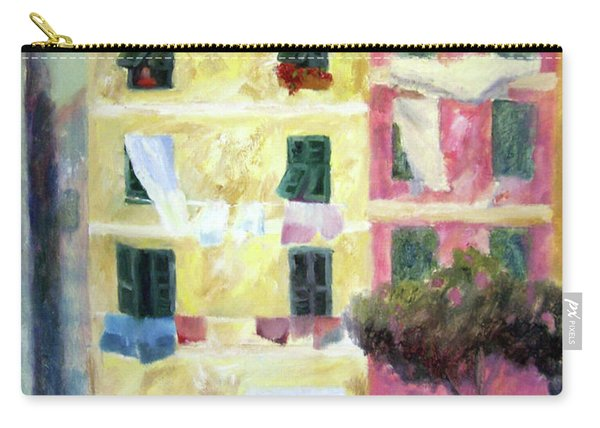 Italian Piazza With Laundry Carry-all Pouch