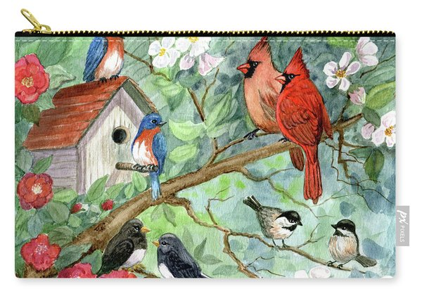 It's A Spring Thing Carry-all Pouch