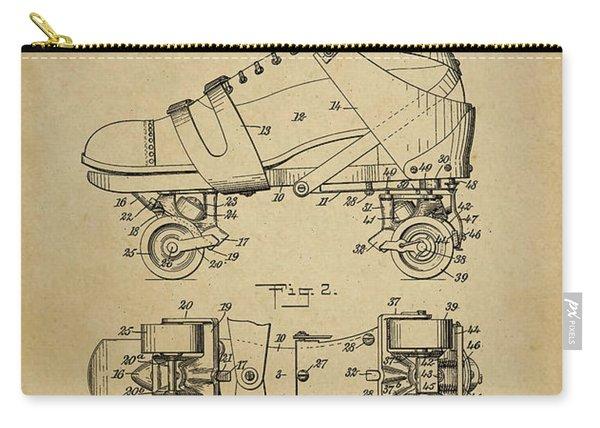 J. L. Plimpton, Roller Skate, Patented Dec.8,1908. Carry-all Pouch