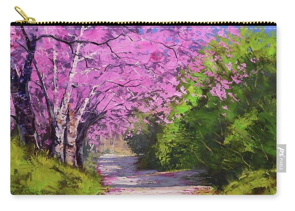 Jacaranda Trees Carry-all Pouch