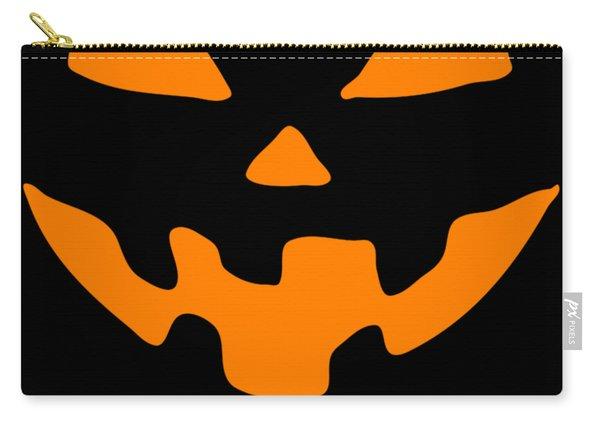 Jackolantern Happy Halloween Pumpkin Carry-all Pouch