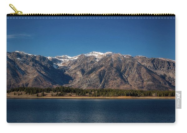 Jackson Lake Wyoming Carry-all Pouch