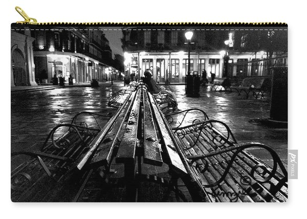 Jackson Square In The Rain Carry-all Pouch