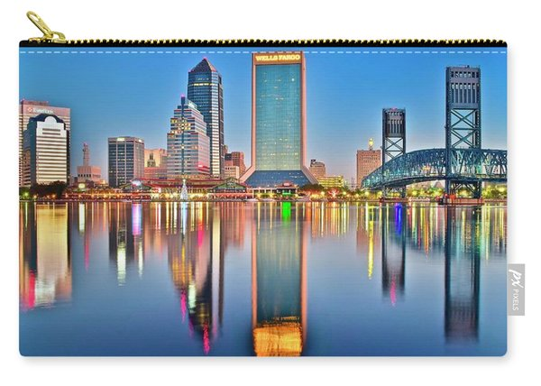 Jacksonville Reflecting Carry-all Pouch