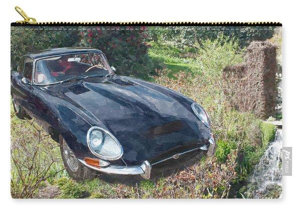 Jaguar E Type Carry-all Pouch
