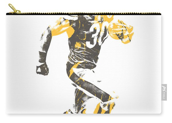 James Connor Pittsburgh Steelers Pixel Art 1 Carry-all Pouch