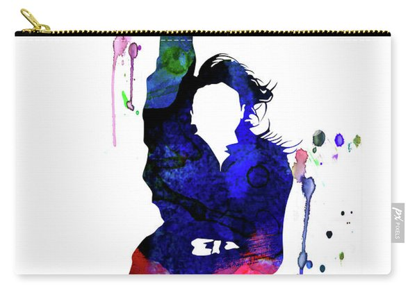 Janet Jackson Watercolor Carry-all Pouch