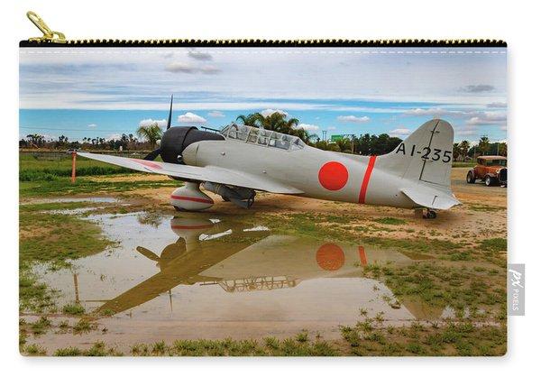 Japanese Mitsubishi Zero Plane Carry-all Pouch