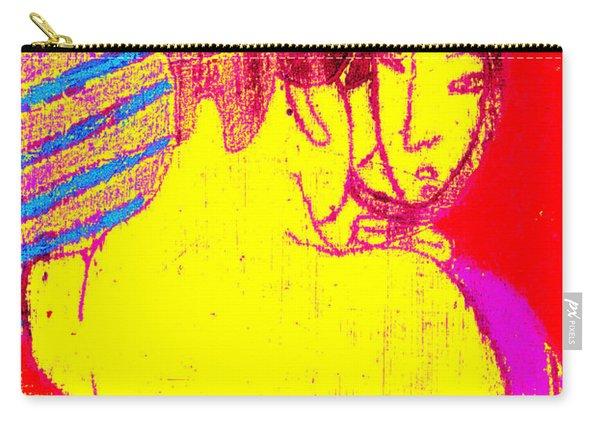 Japanese Pop Art Print 1 Carry-all Pouch