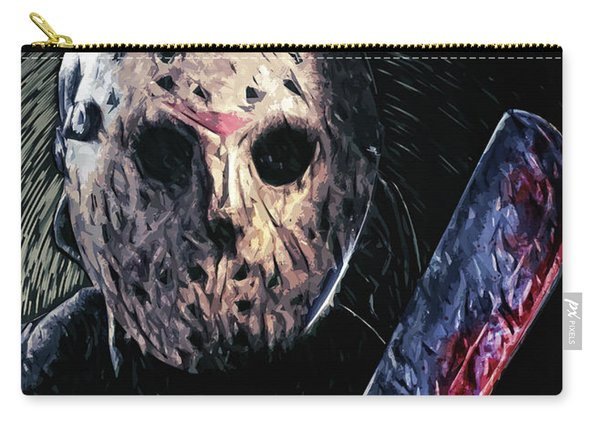 Jason Voorhees Carry-all Pouch