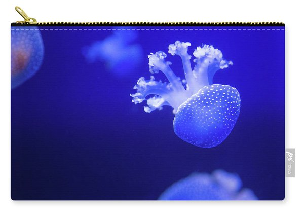 Jelly Fish At The Oceanographic Museum Of Monaco Jacques Cousteau Museum Carry-all Pouch