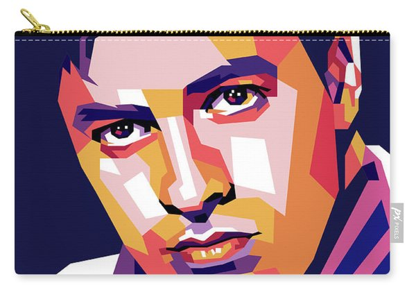 Jerry Lewis Illustration Carry-all Pouch