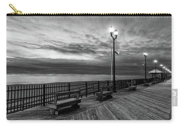 Jersey Shore In Winter Carry-all Pouch