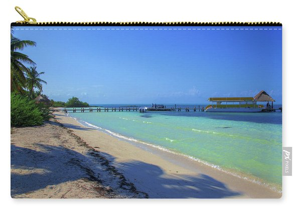 Jetty On Isla Contoy Carry-all Pouch