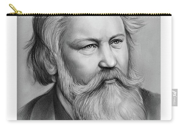 Johannes Brahms Carry-all Pouch
