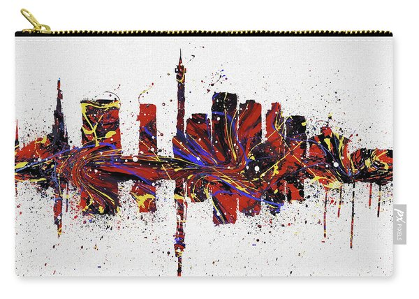 Johannesburg Colorful Skyline Carry-all Pouch