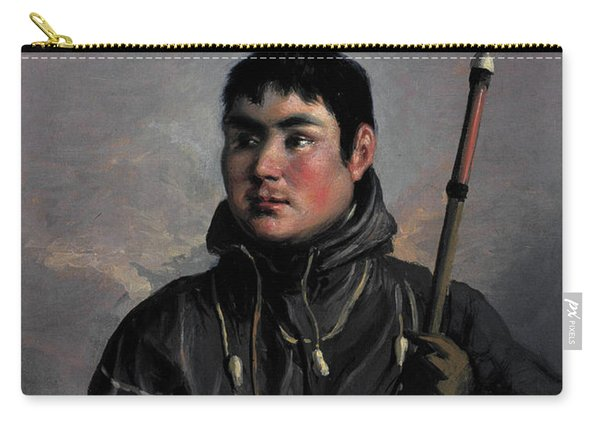 John Sakeouse, Inuit Whaler, 1816 Carry-all Pouch
