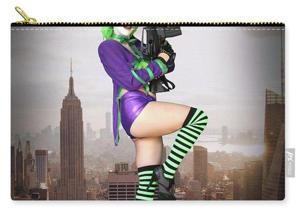 Joker Is Wild Carry-all Pouch