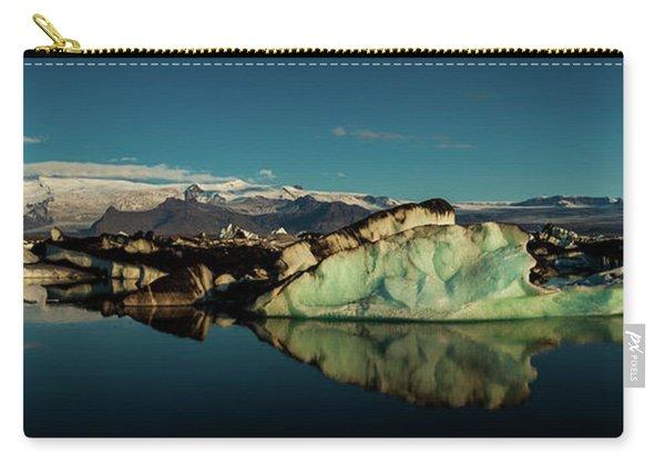 Jokulsarlon Lagoon, Iceland Carry-all Pouch