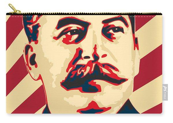 Joseph Stalin Retro Propaganda Carry-all Pouch