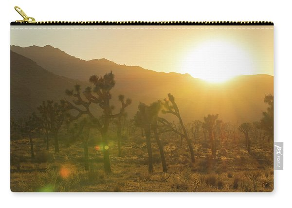 Joshua Tree At Sunset Carry-all Pouch