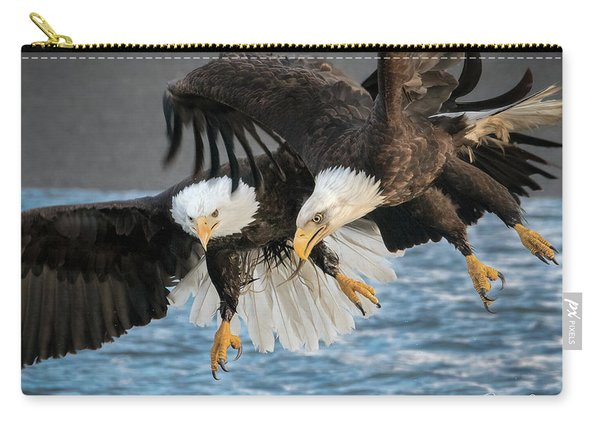 Jousting Eagles Carry-all Pouch