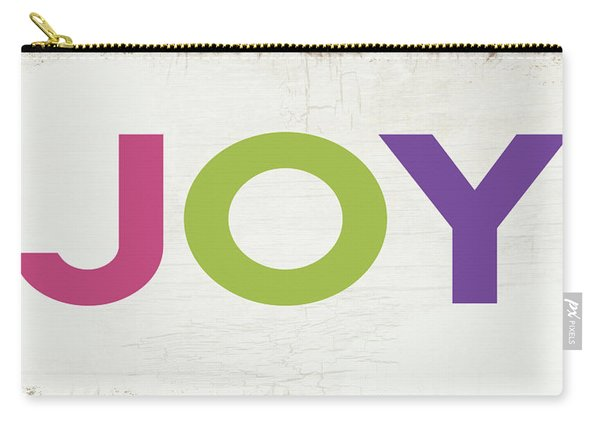 Joy In Color- Art By Linda Woods Carry-all Pouch