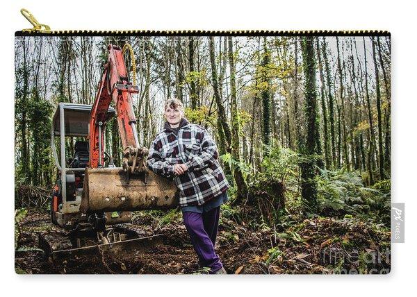 Julie Hillman - Female Gravedigger Carry-all Pouch