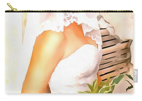 June Bride Carry-all Pouch