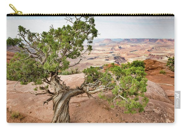 Juniper Over The Canyon Carry-all Pouch