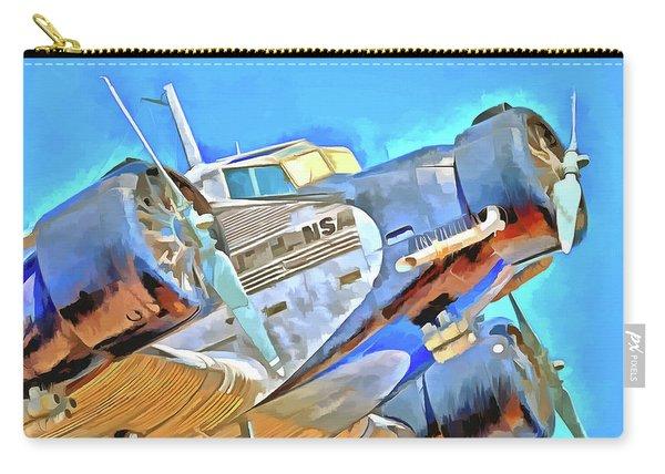 Junkers Ju 52 Pop Art Carry-all Pouch