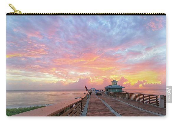 Juno Beach Pier Sunrise Carry-all Pouch
