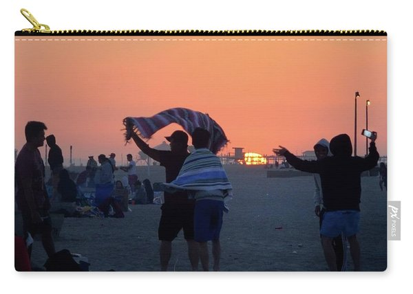Carry-all Pouch featuring the photograph Just Another California Sunset by Ron Cline