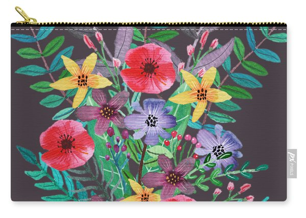 Just Flora II Carry-all Pouch