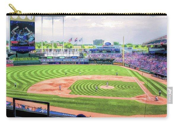 Kauffman Stadium Kansas City Royals Baseball Ballpark Stadium Carry-all Pouch