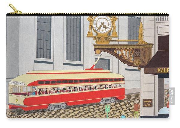 Kaufmann Clock Carry-all Pouch