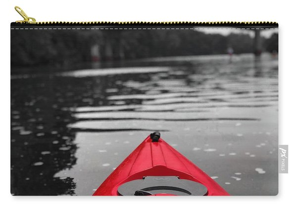 Kayaking The Occoquan Carry-all Pouch
