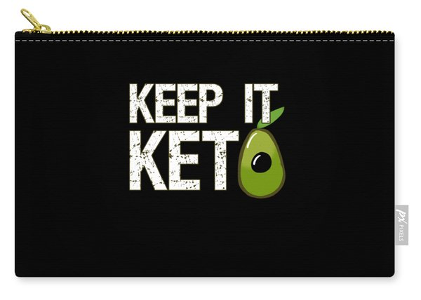 Keep It Keto Carry-all Pouch