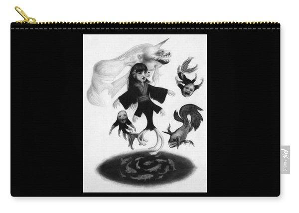 Keiko Among The Koi - Artwork Carry-all Pouch