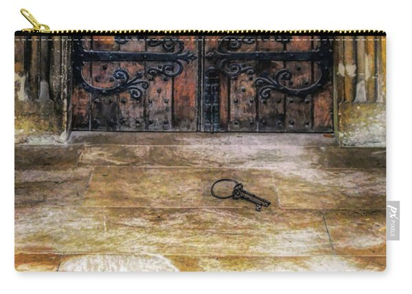 Keys Laying By Old Doors Carry-all Pouch