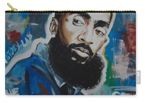 King Nipsey Carry-all Pouch