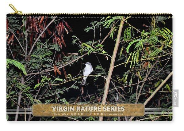 Kingbird In Casha - Virgin Nature Series Carry-all Pouch