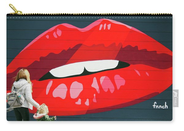 Kiss From San Francisco Carry-all Pouch