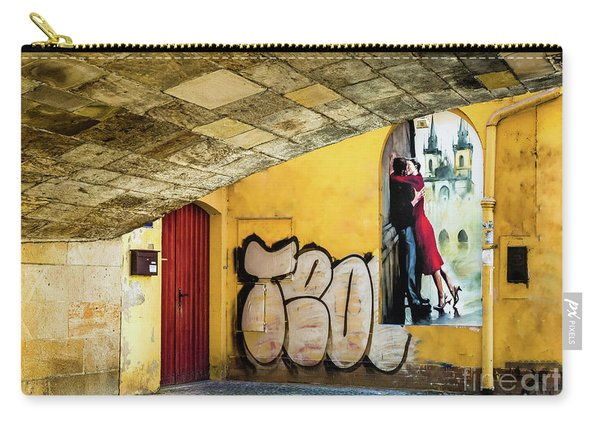 Kissing Under The Bridge Carry-all Pouch