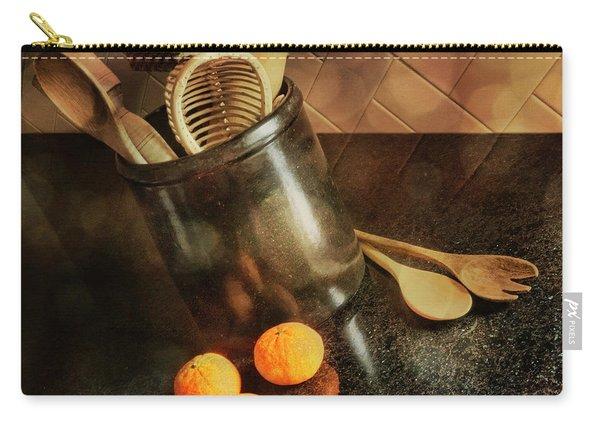 Kitchen Utensils - Mandarin Oranges Carry-all Pouch