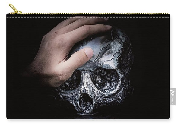 Carry-all Pouch featuring the digital art Knife Crime Part 3 - Rest In Peace by ISAW Company