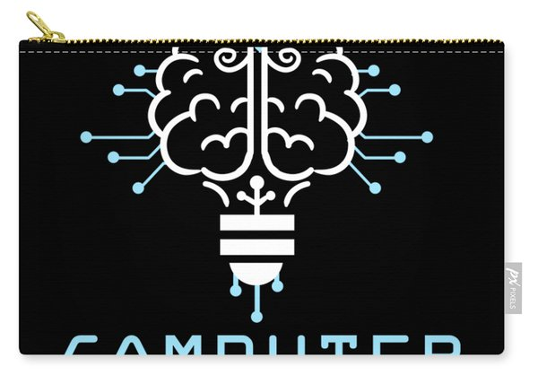 Knowledge Computer Psychiatrist Nerd Humour Geek Carry-all Pouch