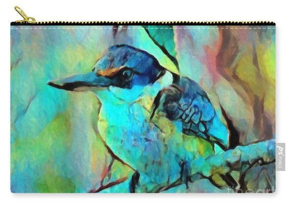 Kookaburra Blues Carry-all Pouch